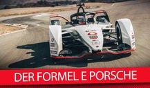 Porsche-Rennwagen für Formel-E-Debüt: 99X Electric vorgestellt