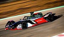 Formel E 2019: Audis neuer FE06 auf der Rennstrecke