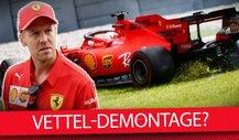 Rote Krise: Demontiert Sebastian Vettel sein F1-Vermächtnis?