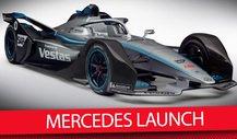 Formel E: Mercedes präsentiert neue Fahrer, Auto & Teamchef