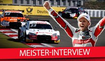 DTM-Champion 2019 Rene Rast im Exklusiv-Interview