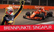 Formel 1 2019: 5 Brennpunkte vor dem Singapur GP