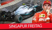 Formel 1 2019: News nach dem Freitags-Training in Singapur