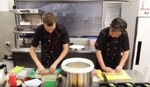Sushi-Training für Toro Rosso-Duo Kvyat und Gasly