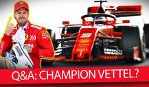 Formel 1 Q&A: Ist Sebastian Vettel zurück zu alter Stärke?