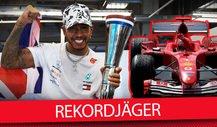 Formel-1-Rekorde: Kann Hamilton Schumis Bestmarken knacken?