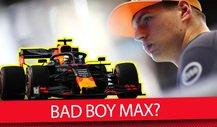 Max Verstappen in der Formel 1: Wieder zu sehr Bad Boy?