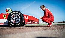 Mick Schumacher fährt Michael Schumachers F2002 in Fiorano!