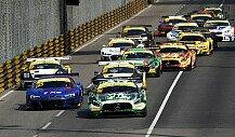 Crash in Macau zwischen Mercedes-Piloten Engel und Mortara