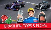 Team für Team: Die Tops & Flops vom Brasilien GP 2019