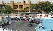 Formel E 2019, Saudi-Arabien: Zusammenfassung zum 1. Rennen