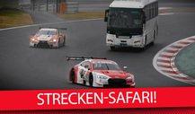 Total verrückte DTM & Super GT: Strecken-Safari im Reisebus!
