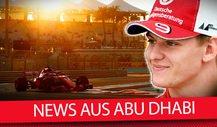 Formel 1, Abu Dhabi: Vettel fehlt, Mick Schumacher bleibt!