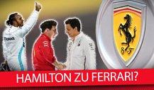 Formel 1 2020: Verhandelt Lewis Hamilton mit Ferrari?