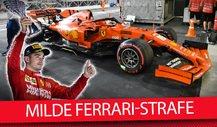 Leclerc im Glück: Warum wurde Ferrari nicht härter bestraft?