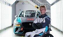 Aoki: Gelähmter Ex-MotoGP-Pilot fährt Jaguar-Elektrorennen