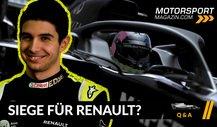 Formel 1 Q&A: Gewinnt Renault bald Rennen?