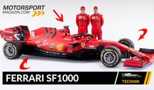 Formel 1 Autos 2020: Ferrari SF1000 im Technik-Check
