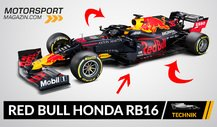 Formel 1 Autos 2020: Red Bull Honda RB16 im Technik-Check