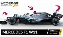 Formel 1 Autos 2020: Mercedes F1 W11 im Technik-Check