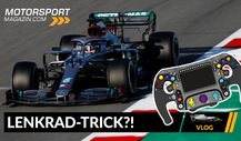 Formel 1 2020, 2. Testtag: Rätsel um Mercedes Lenkrad-Trick