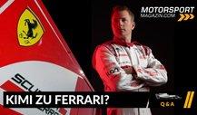 Formel 1 Q&A: Kehrt Kimi Räikkönen zu Ferrari zurück?