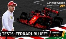 Formel 1 Testfahrten 2020: Blufft Ferrari nur?