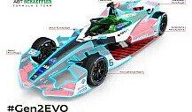 Formel E: Audi zeigt Wandel vom Gen2- zum Gen2-EVO-Rennauto