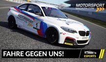 Fahre gegen uns: Motorsport-Magazin.com goes Simracing!