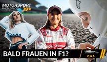 Formel 1 Q&A: Gibt es bald eine F1-Pilotin?