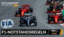 Neues Formel 1 Notstands-Reglement: So sieht es aus!