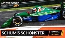 Schumis erstes Formel 1-Auto: einer der schönsten F1-Boliden