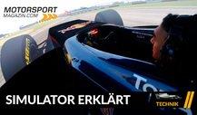 Formel 1 Simulator erklärt: So entwickeln die Teams virtuell