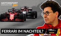 Regeln verschoben:Ist Ferrari in der Formel 1 2021 im Nachteil?