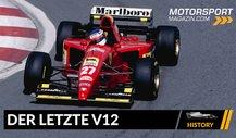 Ferrari 412T2: Der letzte Zwölfzylinder der Formel 1