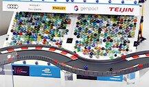 Marbula One: Formel E mischt beim Murmel-Rennen mit