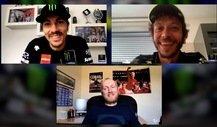 MotoGP: Valentino Rossi und Maverick Vinales im Interview