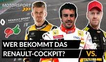 Formel 1 2021, Alonso, Vettel, Hülkenberg: Wer geht zu Renault?