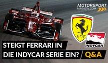 Formel 1: Steigt Ferrari in die IndyCar Serie ein?
