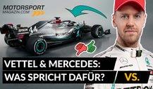 Formel 1: Hat Vettel eine Chance bei Mercedes?
