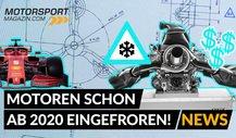Formel 1 Reglement: Motoren werden schon 2020 eingefroren!
