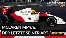 Formel 1 History: McLaren MP4/6 - Der letzte seiner Art