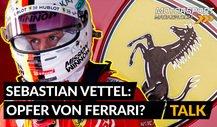 Formel 1: War Sebastian Vettel ein Opfer von Ferrari?