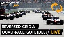 Reversed-Grid: Umgedrehte Startaufstellung in der Formel 1?