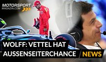 Formel 1, Toto Wolff: Vettel mit Außenseiterchance bei Mercedes