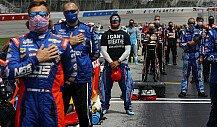 NASCAR-Fahrer positionieren sich gegen Rassismus