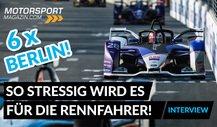 Formel-E-Finale Berlin: BMW-Titelanwärter Max Günther exklusiv