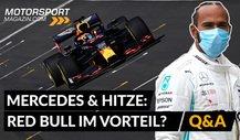 Formel 1: Ist Red Bull im Vorteil? Hitzeprobleme bei Mercedes?