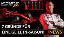7 Gründe für eine geile Formel 1 Saison 2020