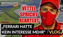 Klare Worte von Vettel: Von Ferrari vor die Tür gesetzt!